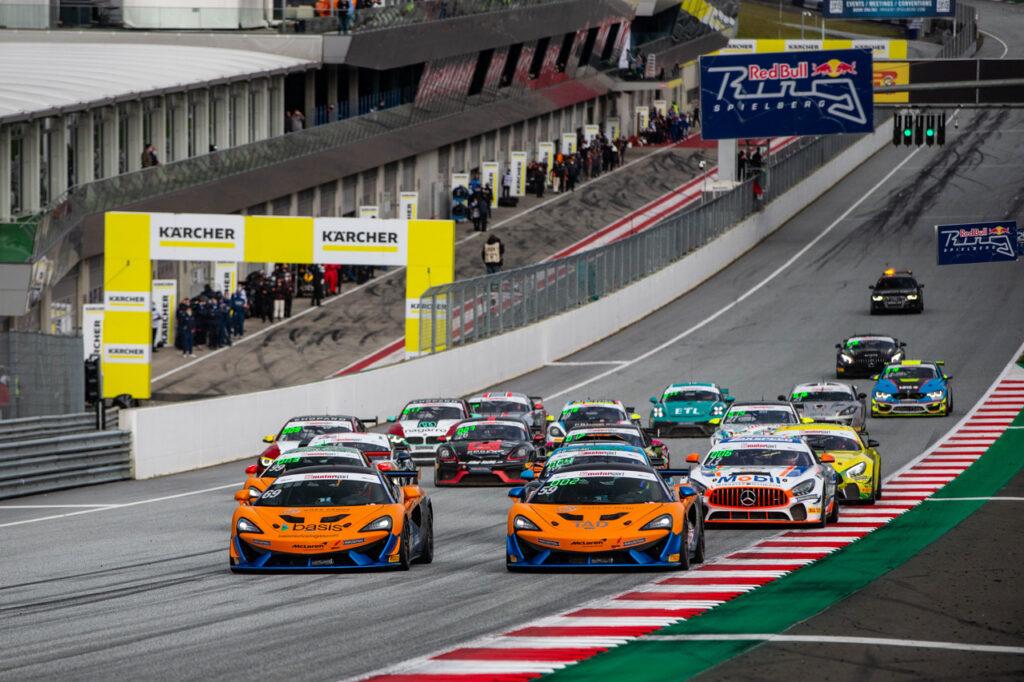 ADAC GT4 Germany, 7. + 8. Lauf Red Bull Ring 2020 - Foto: Gruppe C Photography; #59 McLaren 570S GT4, Doerr Motorsport: Christopher Dreyspring, Aleksey Sizov