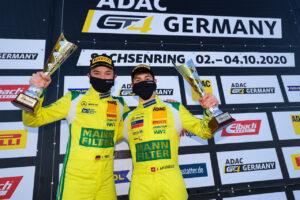 ADAC GT4 Germany, 5. + 6. Lauf Sachsenring 2020 - Foto: Gruppe C Photography; #48 Mercedes-AMG GT4, Mann-Filter HTP-Winward Motorsport: Julien Apotheloz, Luca-Sandro Trefz