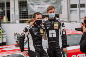 Schütz Motorsport Mercedes-AMG GT3 ADAC GT Masters Spielberg Red Bull Ring 2020 Philipp Frommenwiler und Marvin Dienst