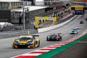 ADAC GT Masters, 9. + 10. Lauf Red Bull Ring 2020 - Foto: Gruppe C Photography; #11 Audi R8 LMS GT3, EFP Car Collection by TECE: Elia Erhart, Pierre Kaffer