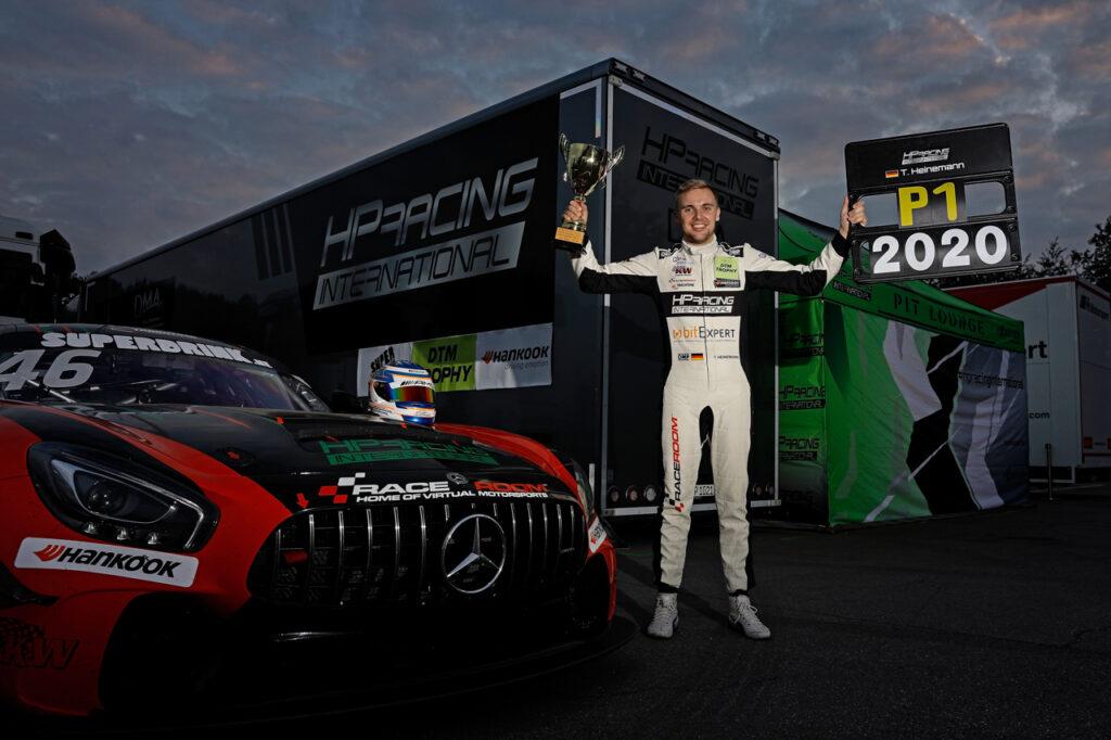 2020 DTM Trophy Zolder - 2 Tim Heinemann (GER), HP Racing, Mercedes AMG