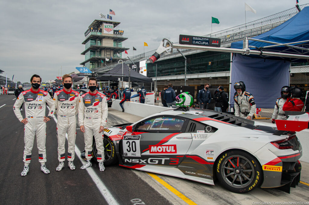 Team Honda Racing Indianapolis Intercontinental GT Challenge 2020
