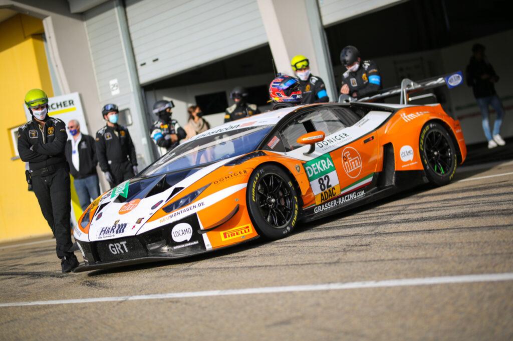 GRT Grasser Racing Team, Lamborghini Huracán GT3 EVO #82 ADAC GT Masters 2020 Sachsenring
