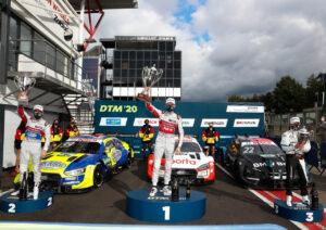 DTM 2020, Zolder I Mike Rockenfeller, René Rast, Lucas Auer