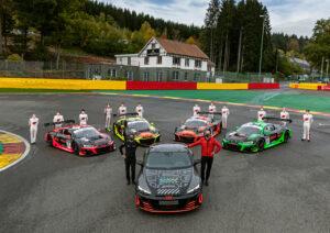 24h Spa Francorchamps Audi Sport customer racing, Audi R8 LMS, Audi RS e-tron GT prototype