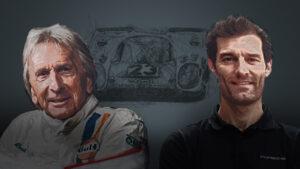 Derek Bell und Mark Webber Porsche