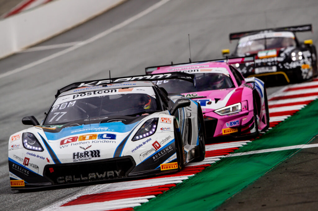 ADAC GT Masters, 9. + 10. Lauf Red Bull Ring 2020 - Foto: Gruppe C Photography Callaway Competition Corvette GT3 Markus Pommer Jeffrey Schmidt