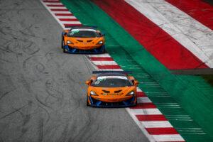 ADAC TCR Germany, 11. + 12. Lauf Red Bull Ring 2020 - Foto: Gruppe C Photography; #69 McLaren 570S GT4, Doerr Motorsport: Phil Dörr, Fred Martin-Dye