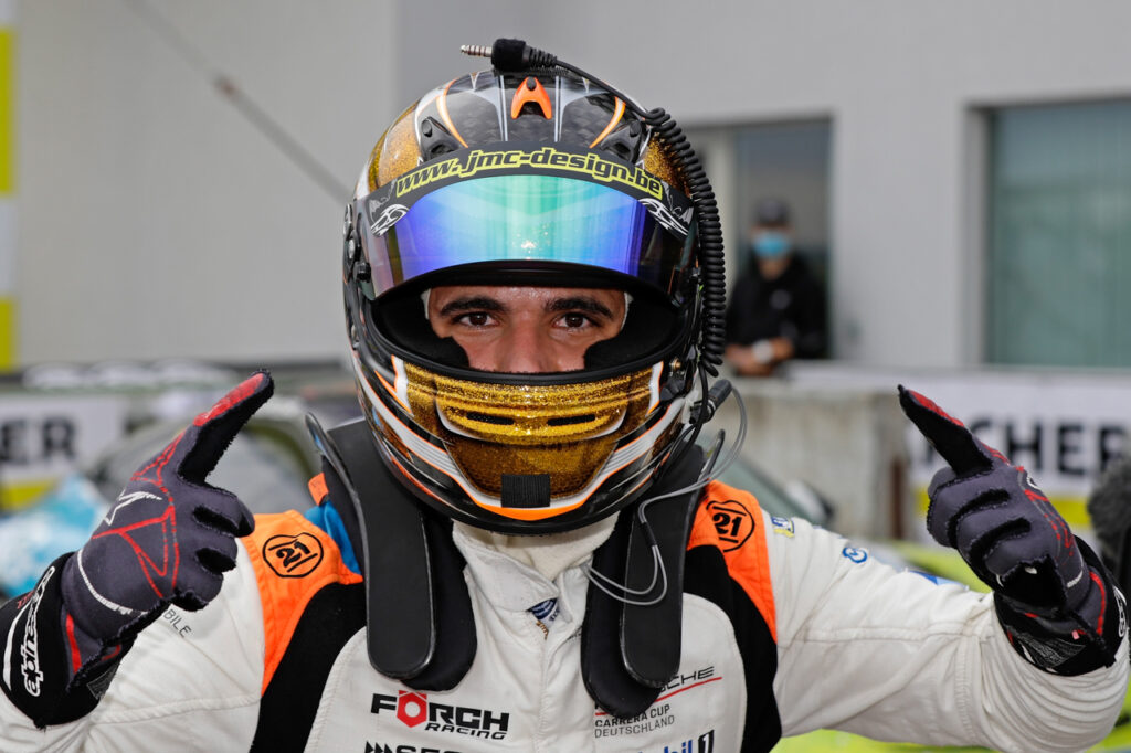 Dylan Pereira (L), Förch Racing, Porsche Carrera Cup Deutschland, Sachsenring 2020