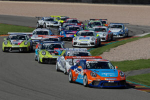 PCCD Sachsenring 2020 Start: Porsche Carrera Cup Deutschland, Sachsenring 2020