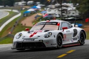 2020 IMSA - Petit Le Mans Porsche 911 RSR, Porsche GT Team (#912), Earl Bamber (NZ), Laurens Vanthoor (B), Mathieu Jaminet (F)
