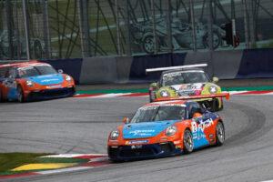 Porsche 911 GT3 Cup, Dylan Pereira (L), Porsche Carrera Cup Deutschland, Red Bull Ring 2020