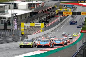 Start: Porsche Carrera Cup Deutschland, Red Bull Ring 2020