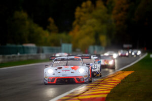 24h Spa 2020 Porsche 911 GT3 R, GPX Racing (#40), Romain Dumas (F), Louis Deletraz (CH), Thomas Preining (A)