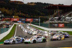 TOTAL 24h Spa Francorchamps 2020 Porsche 911 GT3 R, KCMG (#47), Michael Christensen (DK), Richard Lietz (A), Kevin Estre (F); GPX Racing (#12), Matt Campbell (AUS), Patrick Pilet (F), Mathieu Jaminet (F)