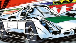 Michel Vaillant Comic, 2020, Porsche AG Zeichnung: Jean Graton