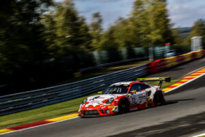 Total 24 Hours of Spa-Francorchamps Official Test Days 2020 - Foto: Gruppe C Photography; #22 Porsche 911 GT3 R, Frikadelli Racing Team: Klaus Abbelen, Simona De Silvestro, Timo Bernhard