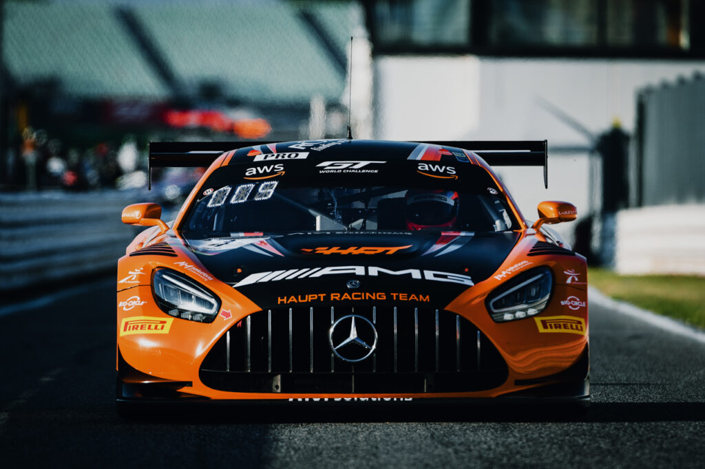 Mercedes AMG GT3 HRT Haupt Racing Team