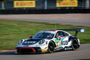 ADAC GT Masters, 7. + 8. Lauf Sachsenring 2020 - Foto: Gruppe C Photography; #17 Porsche 911 GT3 R, KUES Team75 Bernhard: Simona De Silvestro, Klaus Bachler