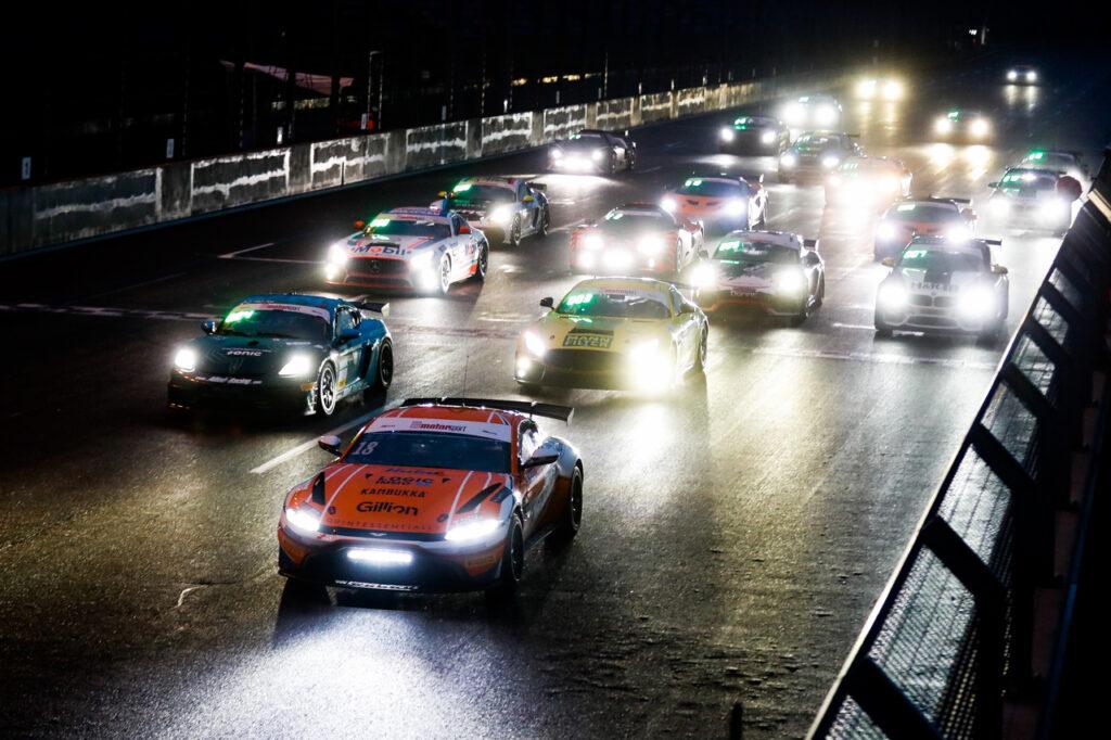 ADAC GT4 Germany Lausitzring #18 Aston Martin Vantage GT4, Prosport Racing: Tim Heinemann, Moritz Oestreich