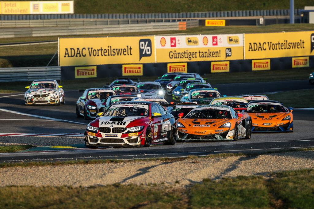 ADAC GT4 Germany - 11 + 12. Lauf Oschersleben 2020 - Foto: Gruppe C Photography; #2 BMW M4 GT4, Hofor Racing by Bonk Motorsport: Michael Schrey, Gabriele Piana; #69 McLaren 570S GT4, Doerr Motorsport: Phil Doerr, Fred Martin-Dye