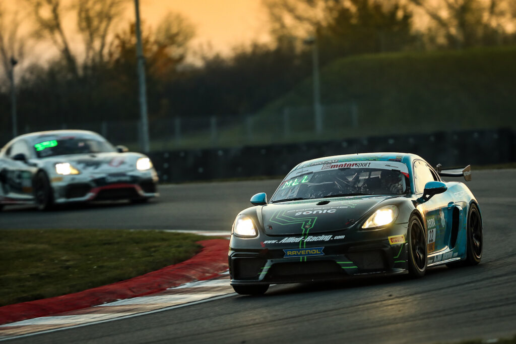 ADAC GT4 Germany - 11 + 12. Lauf Oschersleben 2020 - Foto: Gruppe C Photography; #22 Porsche 718 Cayman GT4 Clubsport, Team Allied-Racing: Jan Kasperlik, Nicolaj Moller-Madsen