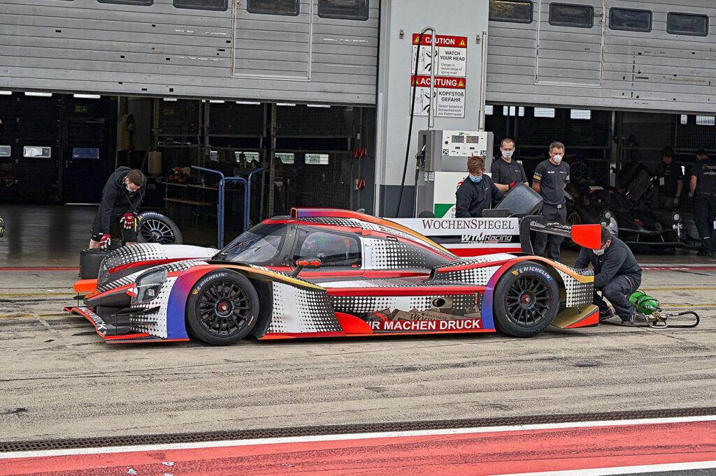 WTM Wochenspiegel Team Monschau LMP3-Prototyps Duqueine D08