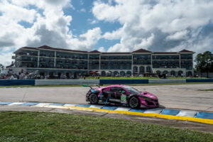 12 Hours of Sebring, Sebring International Raceway, Sebring, FL, November 2020 IMSA Mario Farnbacher Matt McMurry und Shinya Michimi im Acura