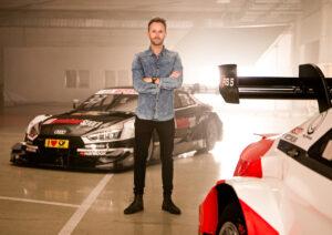 Shooting DTM Audi Meisterautos René Rast