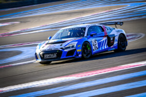GT4 France 2020 Audi R8 LMS GT4 #42 (Saintéloc Racing), Fabien Michal/Gregory Guilvert
