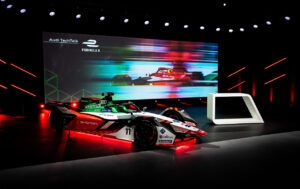The Audi e-tron FE07 was presented during the Audi TechTalk