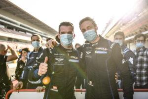 Yannick Mettler und Fabrizio Crestani Bentley Team Lazarus Barcelona 2020