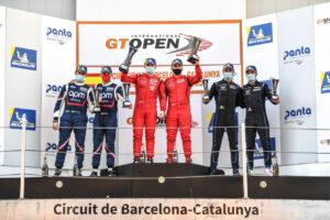 International GT Open Podium Barcelona 2020