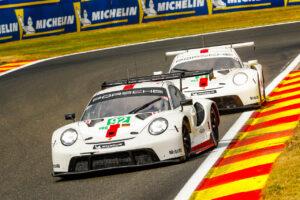 Motorsports: 6 Hours of Spa Francorchamps Porsche 911 RSR, Porsche GT Team (#92), Kevin Estre (F), Michael Christensen (DK); Porsche 911 RSR, Porsche GT Team (#91), Gianmaria Bruni (I), Richard Lietz (A)