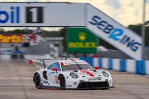 IMSA Sebring 2020 Porsche 911 RSR, Porsche GT Team (#911), Frederic Makowiecki (F), Nick Tandy (GB), Earl Bamber (NZ)