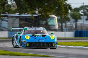 IMSA Sebring 2020 Porsche 911 GT3 R, Wright Motorsports (#16), Patrick Long (USA), Ryan Hardwick (USA), Jan Heylen (B)