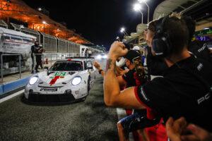 WEC 8h of Bahrain 2020 Porsche 911 RSR, Porsche GT Team (#92), Michael Christensen (DK), Kevin Estre (F)