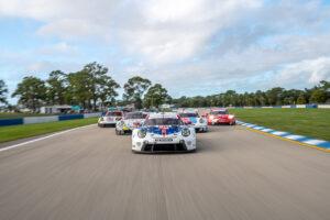 Sebring 2020: Paraderunden Porsche 911 RSR