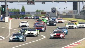 Munich (GER), 10th May 2020. BMW SIM 120 Cup, Nürburgring, BMW M8 GTE, sim racing, BS+COMPETITION.