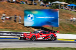 Road Atlanta (USA), 17th October 2020. IMSA WeatherTech SportsCar Championship, Petit Le Mans, BMW Team RLL, BMW M8 GTE, Bruno Spengler, Connor De Phillippi, Colton Herta.