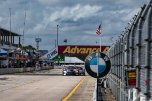 Sebring (USA), 14th November 2020. IMSA WeatherTech SportsCar Championship, 12 Hours Sebring, BMW M Motorsport, BMW Team RLL. #24 MOTUL BMW M8 GTE, John Edwards (USA), Jesse Krohn (FIN), Augusto Farfus (BRA).