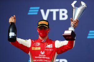 Mick Schumacher FIA Formula 2 Champion 2020