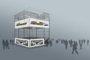 Megaforce Aussichtsturm ADAC GT Masters 2021