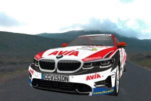 AVIA racing BMW 330i NLS 2021