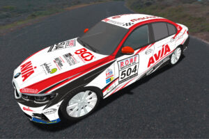AVIA racing BMW 330i Seite NLS 2021