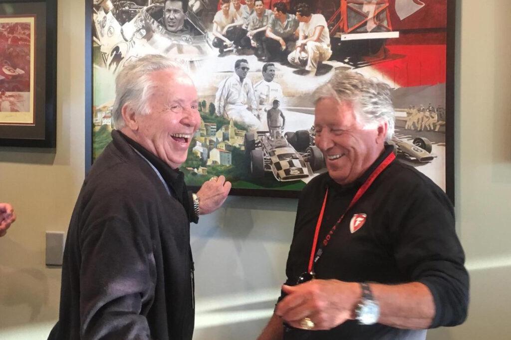 Aldo und Mario Andretti Titelbild