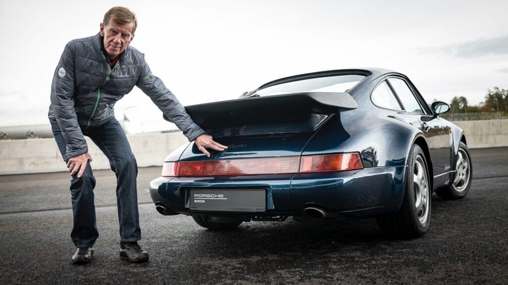 Walter Röhrl Porsche 911 Turbo