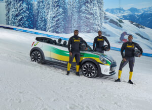 Jamaican Bobsleigh team get creative during lockdown with a MINI Convertible
