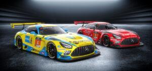 HRT Haupt Racing Team 24h Dubai 2021 Mercedes AMG GT3