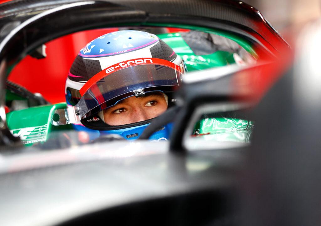 Formula E, Marrakesh E-Prix 2020 Kelvin van der Linde